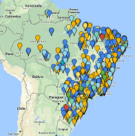 mapa de clientes 2e4rodas
