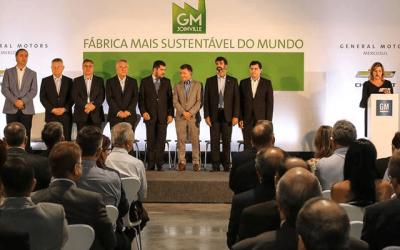 Em qual cidade a GM está investindo R$ 1,9 bilhões?