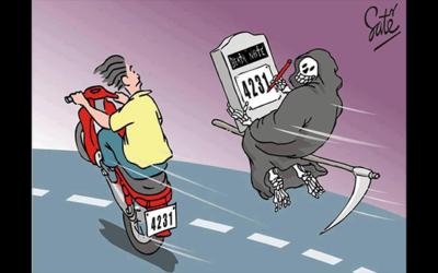 Por que se deve andar de moto com segurança
