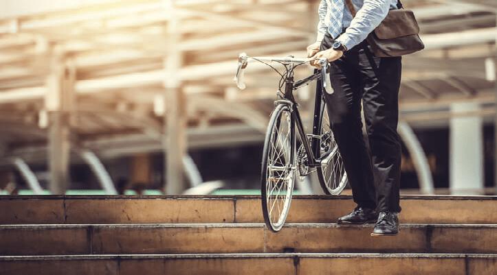 Porque optar por bicicletas como transporte diário.