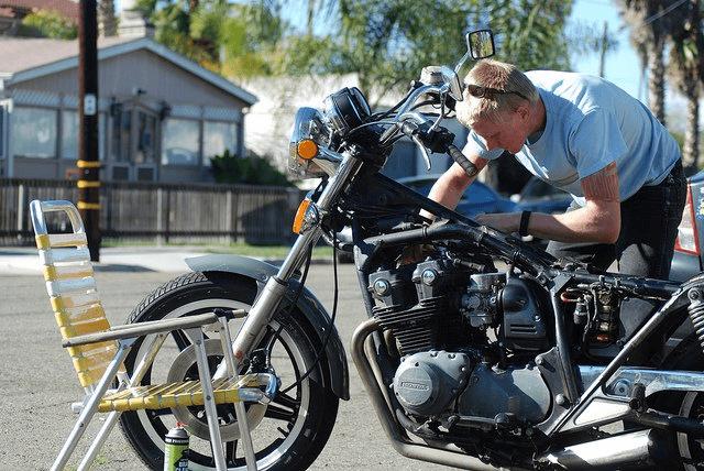 Como cuidar da aparência da sua motocicleta?