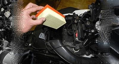 Qual a importância do filtro de ar para  a moto?